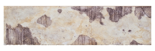 Elise Wagner, 2012. Cartography II. Encaustic Monotype.