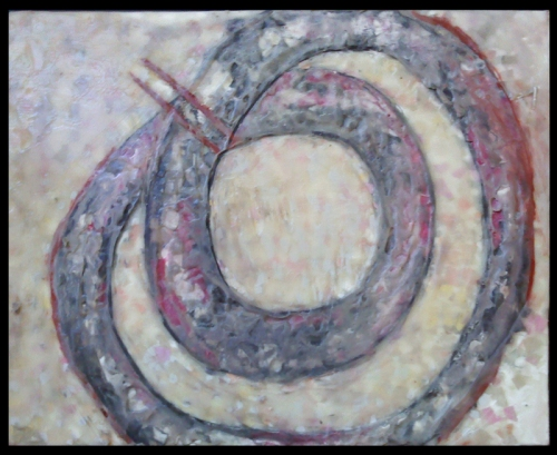 Shnake, 2012. Mixed media.