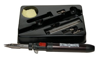 Mini butane torch has a tiny point and not much force. Great tool for small repairs.