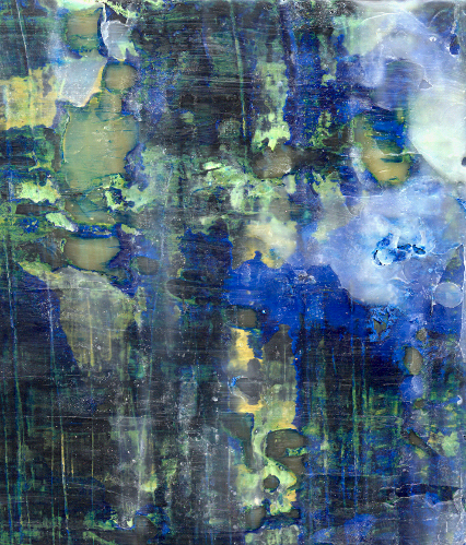 Untitled [large blue-green] (detail) (low-res)